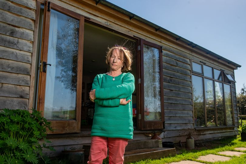 Pensioner faces homelessness as council to demolish eco-cabin she lives in
